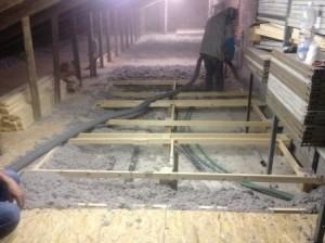 posa pannelli isolanti tetto